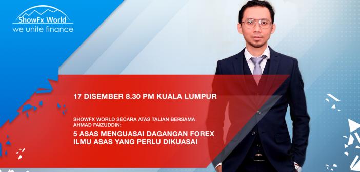 ShowFx World Online: Trading Webinar with Ahmad Faizuddin